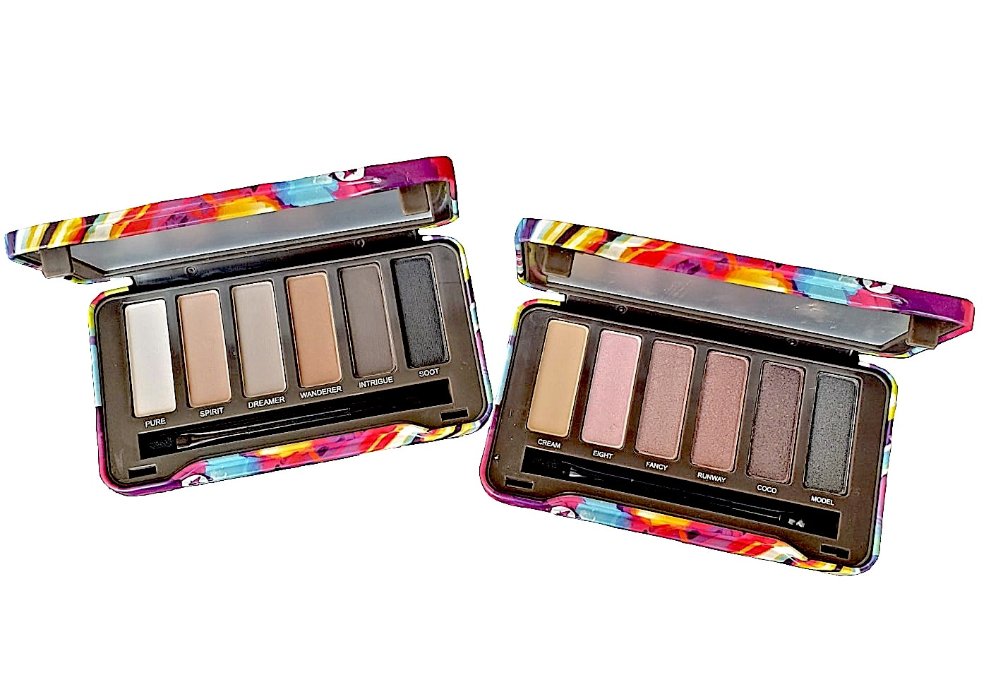 Compacts Natural Eyeshadow Palettes